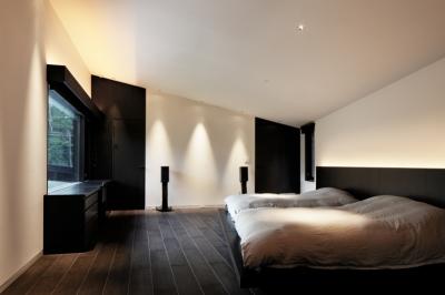 ベッドルーム2 (Y山荘)