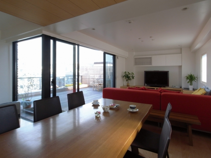リフォーム・リノベーション会社:株式会社エキップ「ダブルリビングのある家」
