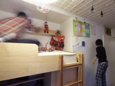 子供部屋 (ダブルリビングのある家)