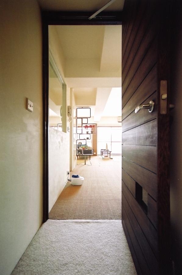 こだわりの理想を叶えた恵比寿の家の写真 玄関