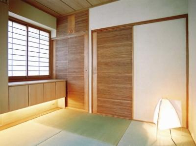 和室 (こだわりの理想を叶えた恵比寿の家)