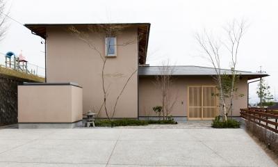 あっさり和風の家