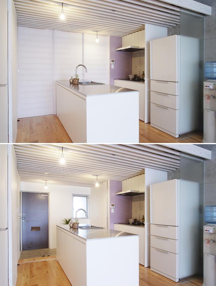 やりたいことは全部やってコストは抑える、身の丈リノベーション(中浦和のリノベーション)の部屋 キッチン