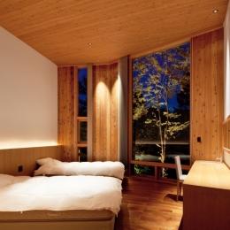 S山荘 (ベッドルーム)