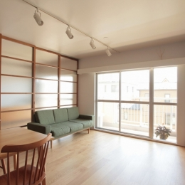 建築家 須藤剛/ツドウデザインスタジオの事例「家族の成長とともに変化できる自由な家(武蔵浦和のリノベーション)」
