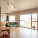 家族の成長とともに変化できる自由な家(武蔵浦和のリノベーション)の写真 リビング