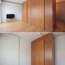 家族の成長とともに変化できる自由な家(武蔵浦和のリノベーション)の写真 子供部屋