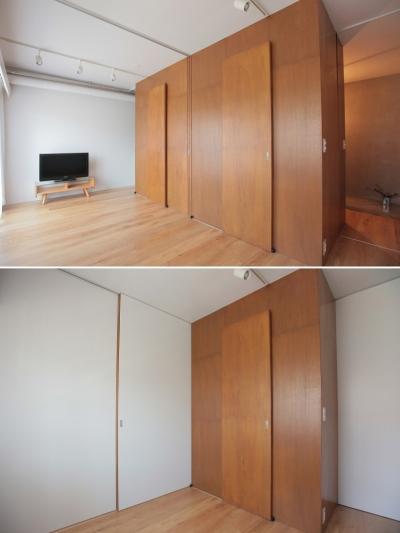子供部屋 (家族の成長とともに変化できる自由な家(武蔵浦和のリノベーション))