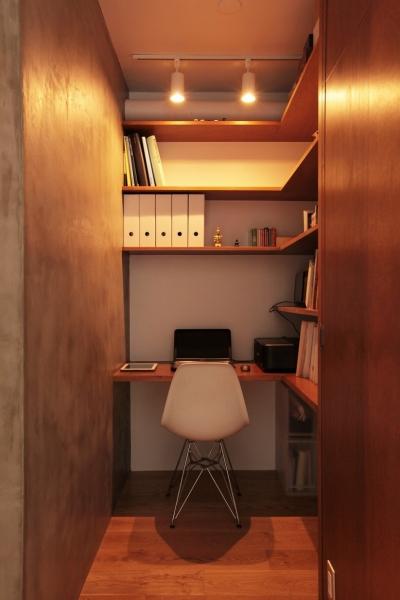 書斎 (家族の成長とともに変化できる自由な家(武蔵浦和のリノベーション))