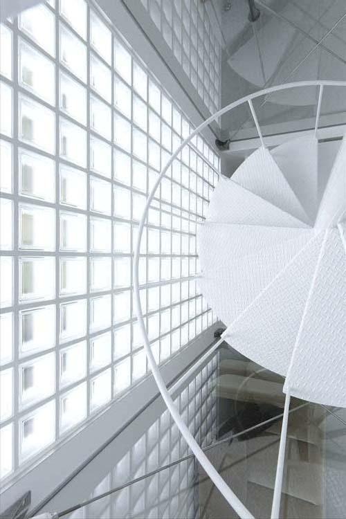 ミチノイエの部屋 螺旋階段