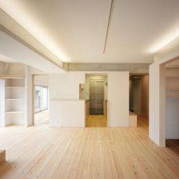 建築家 山岸綾の住宅事例「W邸」