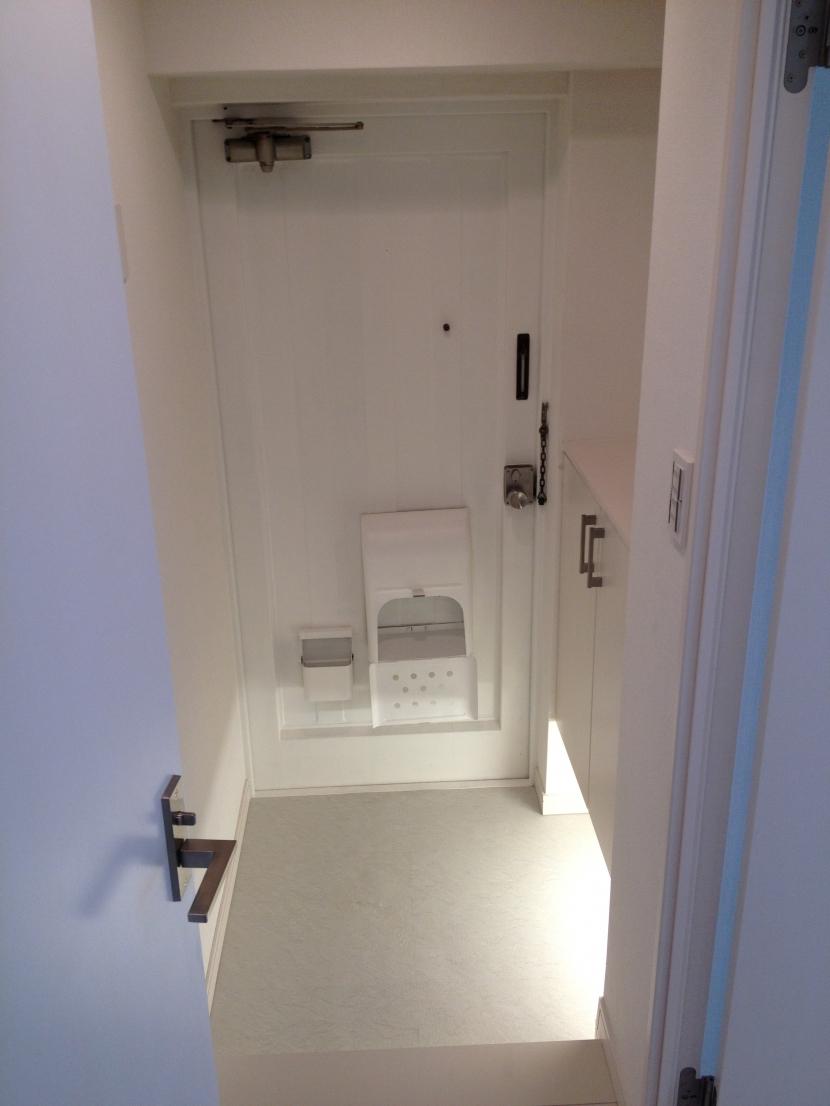 恵比寿邸の部屋 玄関