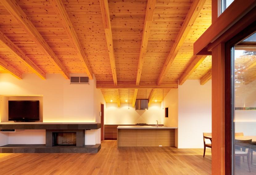 N山荘の部屋 キッチン