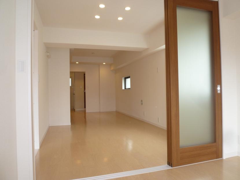 赤坂モダンリノベーションの部屋 リビングスペース