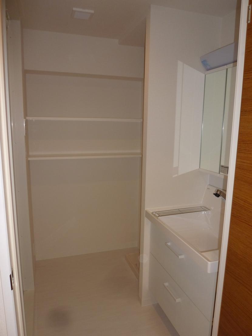 赤坂モダンリノベーションの部屋 洗面室