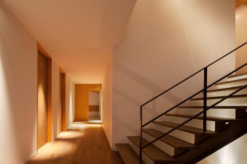 N山荘の部屋 廊下