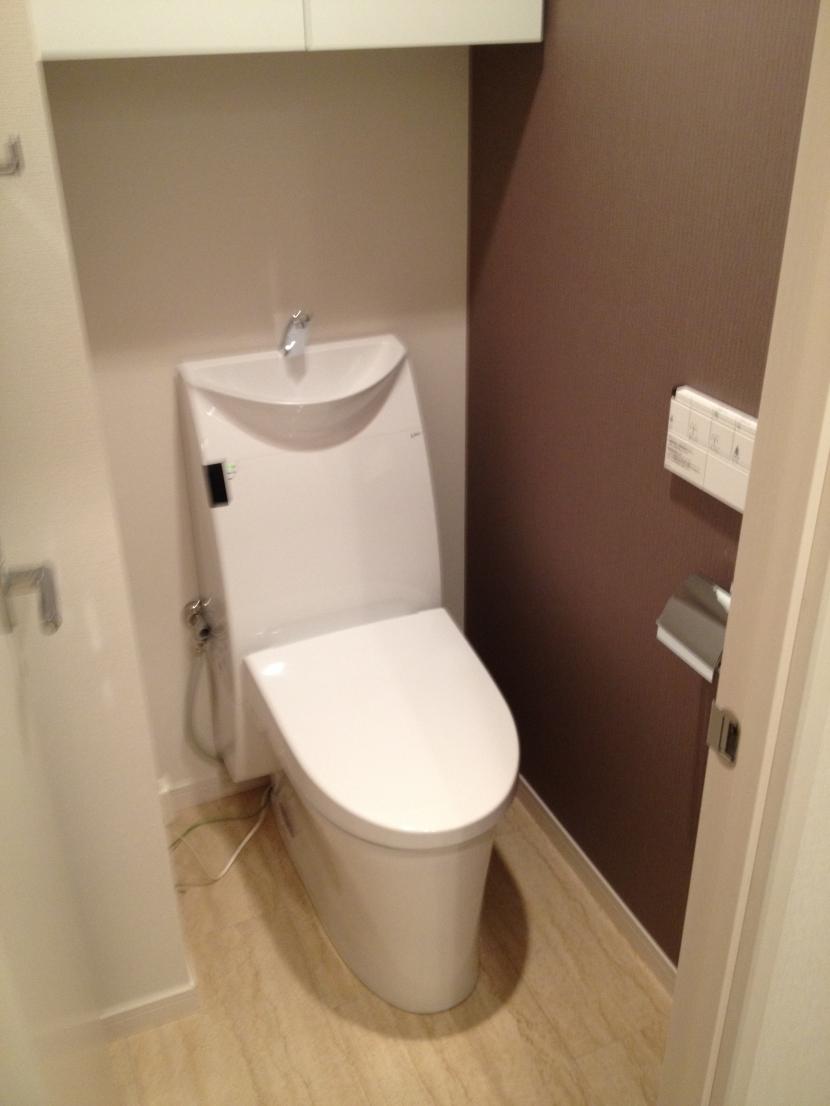 学芸大学邸の写真 トイレ