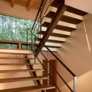 N山荘の写真 階段