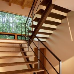 N山荘 (階段)