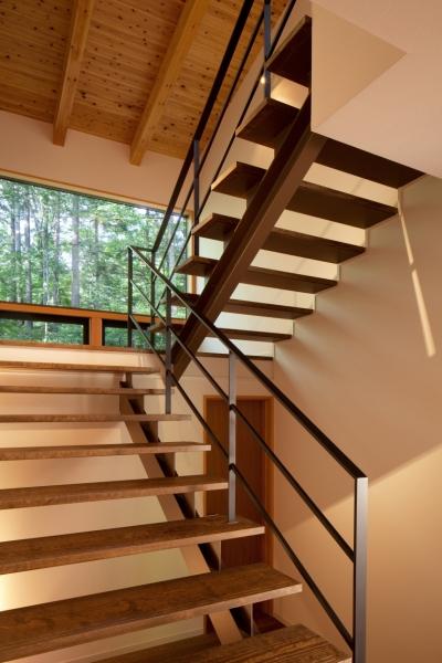 階段 (N山荘)