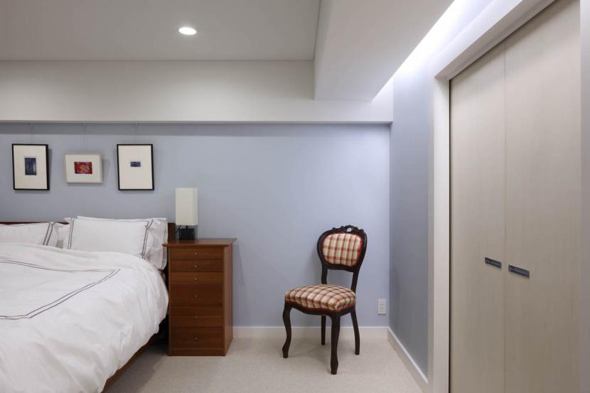 広尾H邸の部屋 ベッドルーム