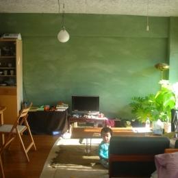 Green Wall (リビング・ダイニング)