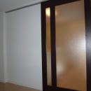 赤坂ビンテージマンションリノベーションの写真 ガラス引き戸