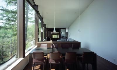 軽井沢・日時計の家