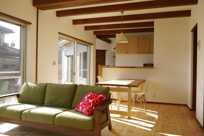 近江八幡の家の写真 LDK