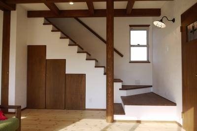 近江八幡の家 (リビング)
