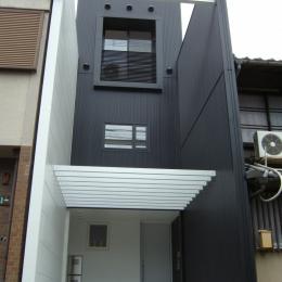 京町屋の家 (外観)