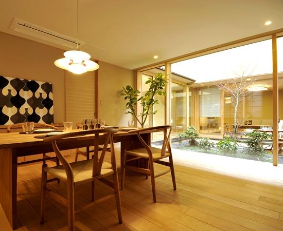 リノベーション・リフォーム会社:中 藏「「光の家、集える庭。@現代京町家」」