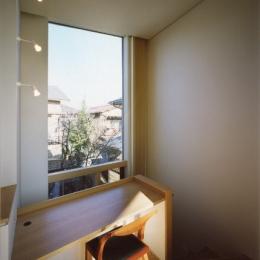 菱形の家 (書斎)