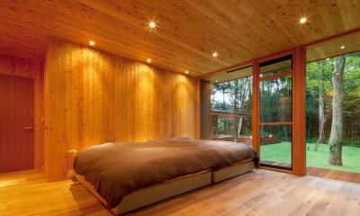 ベッドルーム1|RW山荘