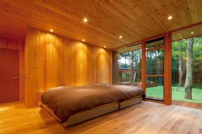 ベッドルーム1 (RW山荘)