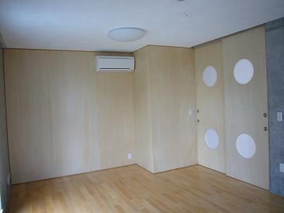 子供室 (ギャラリーのある二世帯住宅)