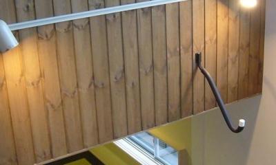 吹き抜け・和室|木造三階建て二世帯住宅