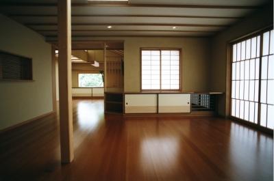 I邸 横浜 (現代の暮しと数寄屋の意匠)