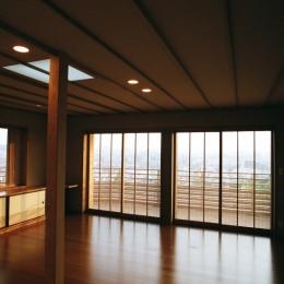 現代の暮しと数寄屋の意匠 (I邸 横浜)
