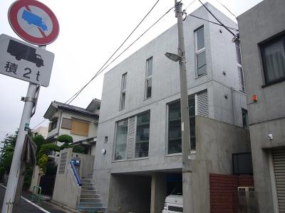 外観 (ギャラリーのある二世帯住宅)