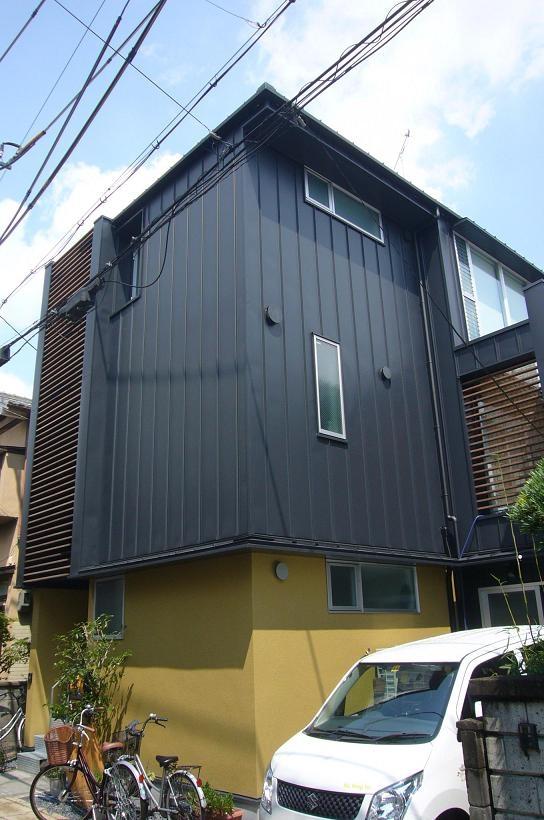 木造三階建て二世帯住宅の部屋 外観