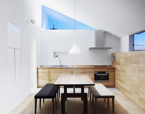 丘の家の部屋 キッチン