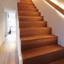 丘の家の写真 階段