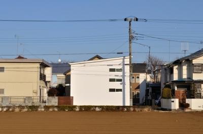 清瀬・清爽の家 (遠景)