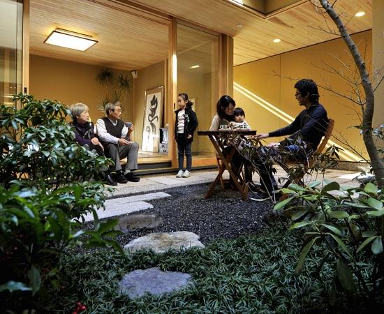 リフォーム・リノベーション会社:ナカクラの現代京町家「「光の家、集える庭。@現代京町家」」