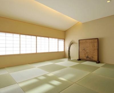 和室 (「光の家、集える庭。@現代京町家」)