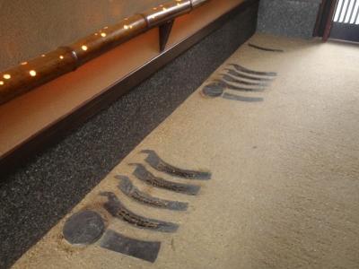 京たたき 施工例 玄関床材 (【販売終了】京たたき(舗装土))