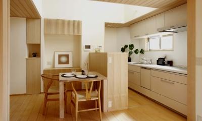 「やすらぎの家@現代京町家」 (キッチン)