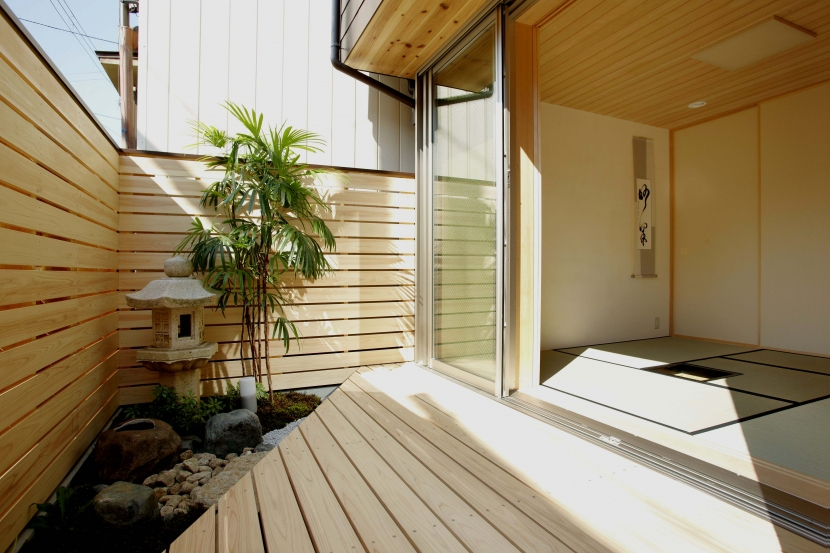 リフォーム・リノベーション会社:ナカクラの現代京町家「「やすらぎの家@現代京町家」」