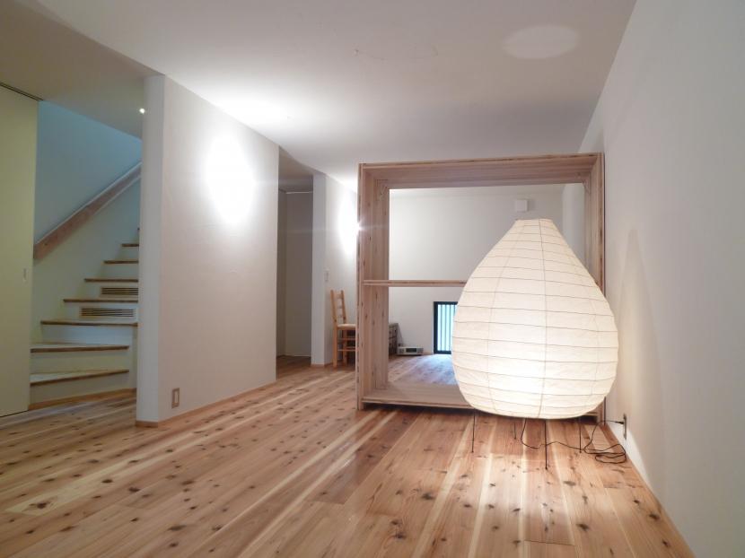 「狭小地域の家@現代京町家」の部屋 寝室